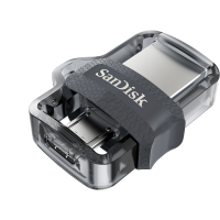 USB памет SanDisk Ultra OTG for Android Dual USB Drive M3.0 64GB, USB 3.0/micro-USB Interface, Скорост на четене: до 150 MB/s